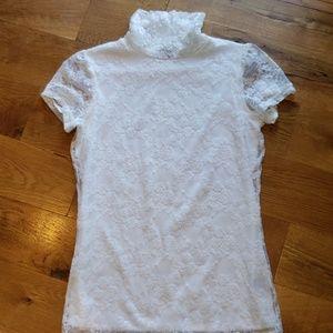 Maurices Lace Shirt Size Medium
